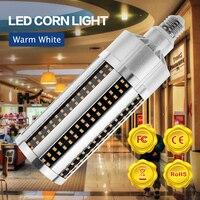 WENNI Light Bulb 220V Bombilla LED 50W E27 Corn LED Lamp 60W 54W E39 LED Bulb 110V No Flicker Home Lighting Energy Saving 2835