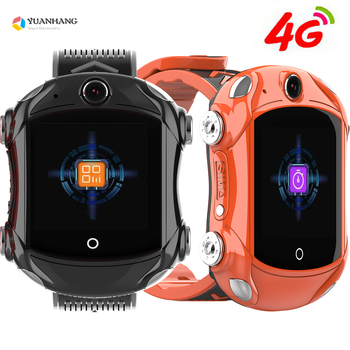 IPX7 Waterproof Smart 4G Remote Camera GPS WI-FI Child Student Car Smartwatch SOS Video Call Monitor Trace Location Phone Watch