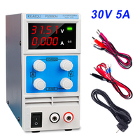 4 Digits dc power supply 30v 5a Digital Display DC Voltage Regulator Switching laboratory Bench Power adjustable source