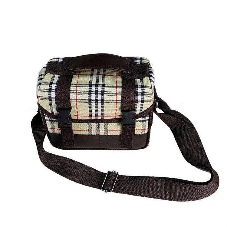 CamDress plaid Camera Case Bag Foto sling shock absorption dslr bag Photo Cover camera dividers рюкзак