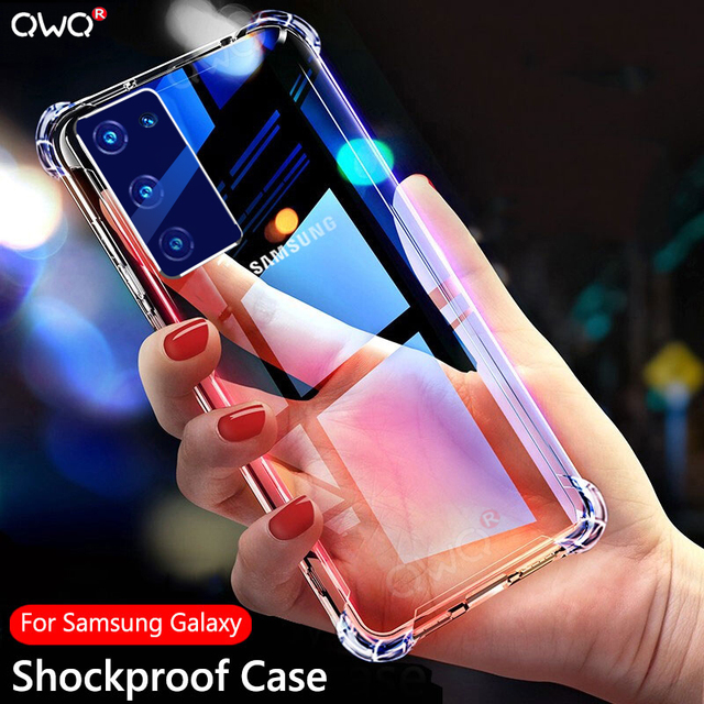 Shockproof Case For Samsung Galaxy S20 fe S10E S9 S8 Plus S7 Note 8 9 10 20 S21 Ultra A20 A30 A50 A70 A51 A71 A21S A52 A72 Cover 1
