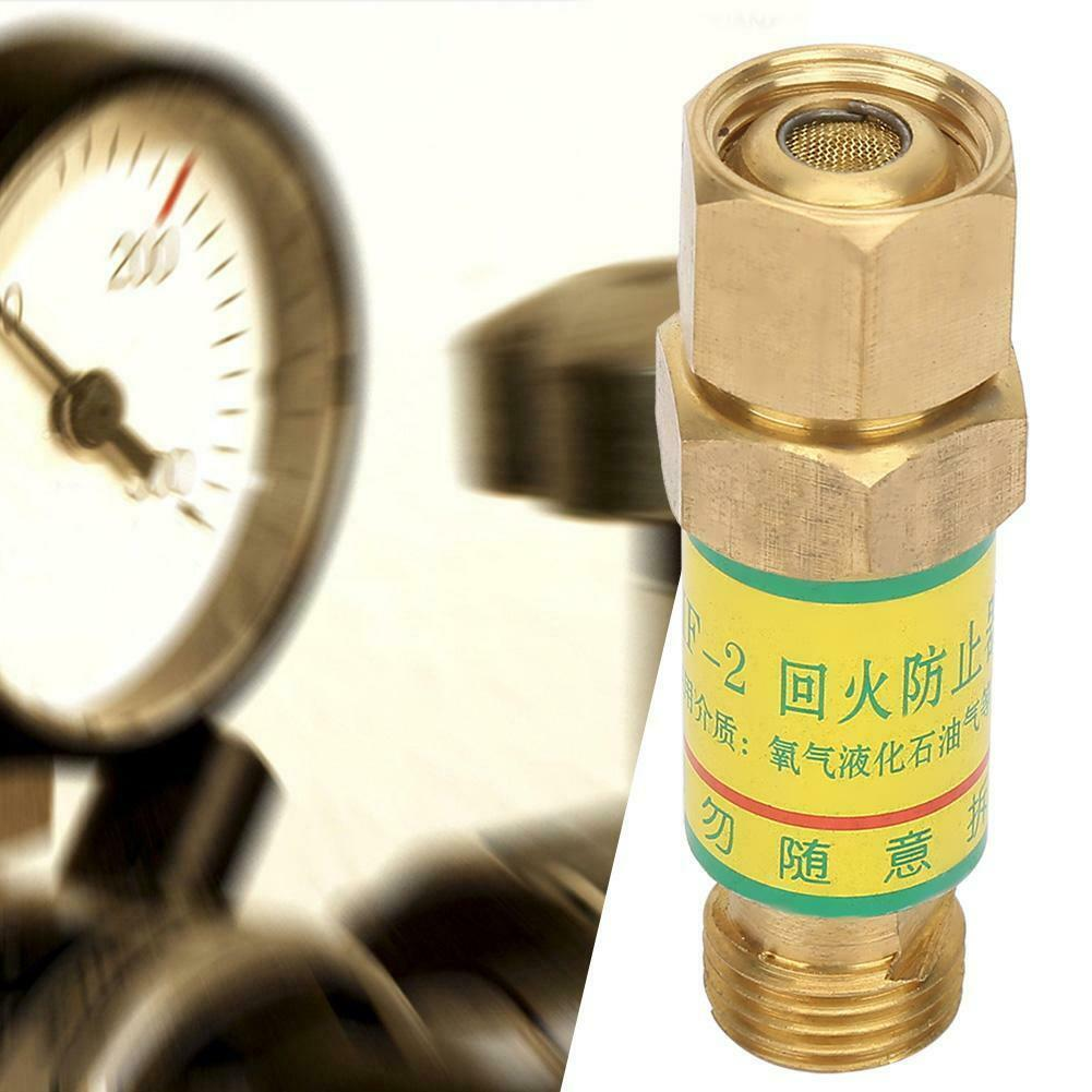 Oxygen Acetylene Flashback Arrestor Fuel Safety Valve Welding/Cutting Torch Fireback Preventer Welding Cutting Tool