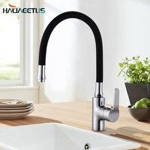 Nhà bếp rửa Phối Bằng Đồng Lạnh Và Nóng Tay Cầm Đơn Xoay Vòi Bếp Nước Bồn Rửa Vòi nước Vòi Nước