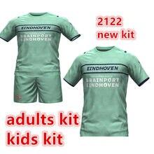 Adultos kit crianças novo 21 22 eindhovenes camisa malen h. lozano bergwijn de jong hendrix pereiro 2022 psv criança camisa de qualidade superior