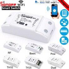 SONOFF TH10 / TH16 RF Grundlegende Pow Dual , Wifi Schalter Smart Home Drahtlose Modul Automatisierung, arbeit mit Alexa Google Hause