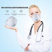 25Pcs/box ffp2 Mask With Valve Non-woven Dust Mask Anti PM2.5 Corona Virus Anti Influenza Breathing Mask Safety Masks Drop ship