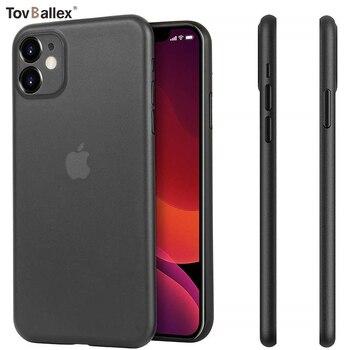 Перейти на Алиэкспресс и купить 1000 шт чехол для телефона Apple iPhone 11 Pro Max XS XR X 8 7 6 6S Plus SE 5 5S минимальный дизайн матовое покрытие Тонкий чехол