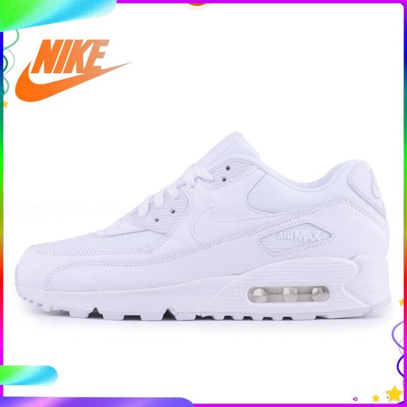 Original authentique NIKE hommes AIR MAX 90 essentiel respirant chaussures de course baskets Sport extérieur confortable 537384-073