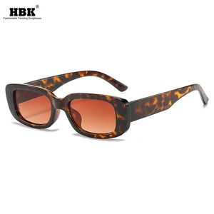 2020 Vintage Square Sunglasses Women Retro Small Frame Fashion Leopard Brown Men Sun Glasses Female Clear Glasses UV400