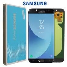 """100% oryginalny 5.5 """"SUPER AMOLED wyświetlacz do SAMSUNG Galaxy J7 Pro 2017 J730 J730F LCD Digitizer zgromadzenie części zamienne"""