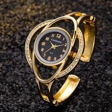 Kadın izle kuvars hareketi basit bilezik kadın saati gül altın saatler kadın saat paslanmaz çelik moda relogio feminino