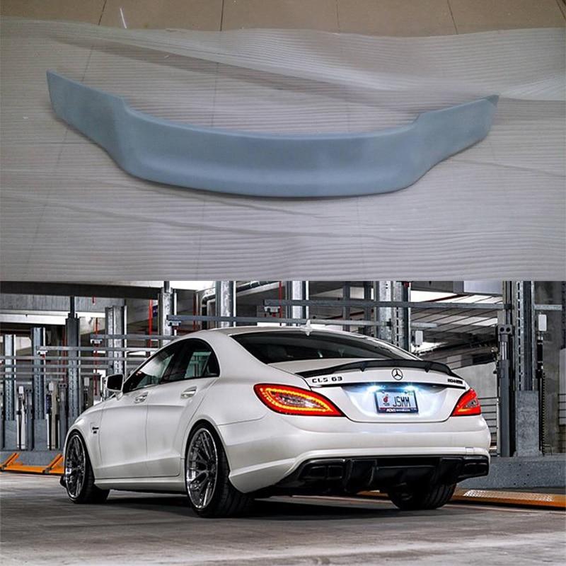 Neobarvana zadnja spojler krila FRP za Mercedes Benz W218 CLS63 2011 - Avtodeli