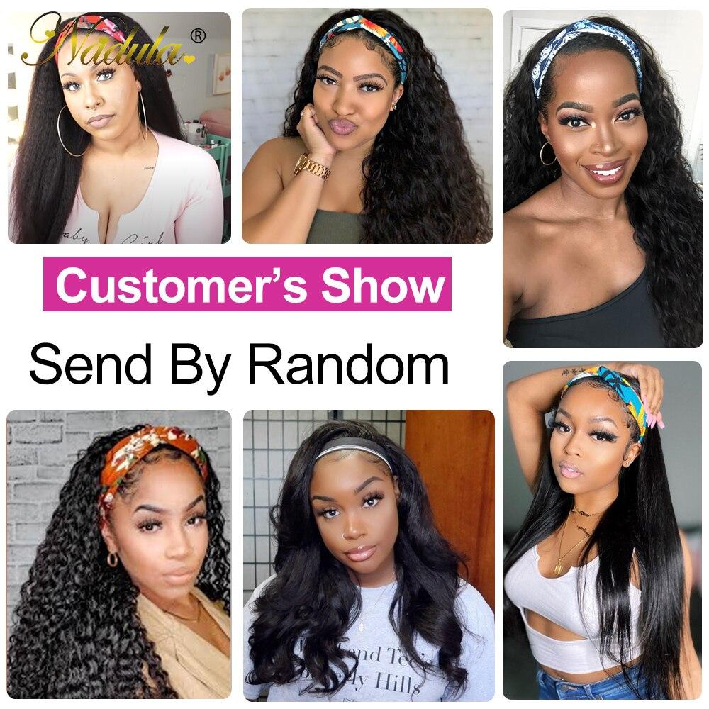 5PCS Hand Band Girls Hair Headbands Ponytail Scarf Elastic Hair Bands for Women Sent Random 6