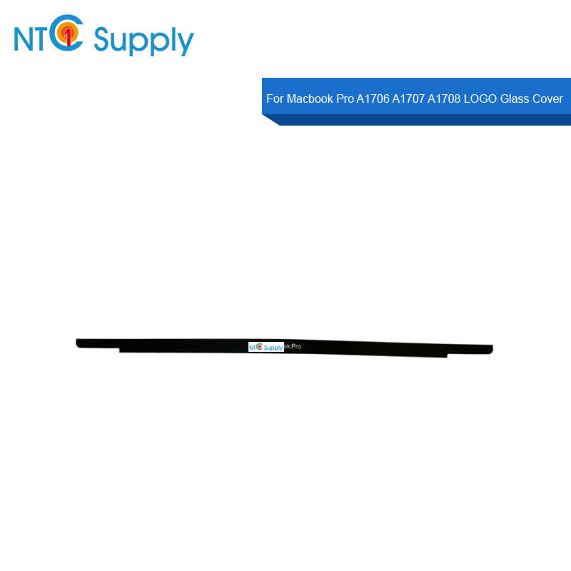 "Ntc Supply Nieuwe Lcd Logo Glas Cover Voor Macbook Pro 13 ''15"" A1707 A1706 A1708 Lcd-scherm Bezel front Logo Glas Cover"