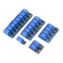 DC 5V 12V 24V 1 2 4 Channel Relay Module With Optocoupler Relay Output 1 2 4 Way Relay Module For Voltage Relays DC5V 12V 24V