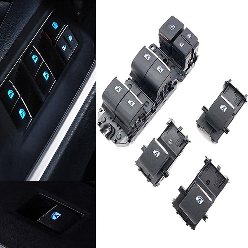 Iluminado led power único interruptor da janela conjunto para toyota rav4 rav 4 2019 2020 esquerda condução backlight|Chaves do carro e relé|   -
