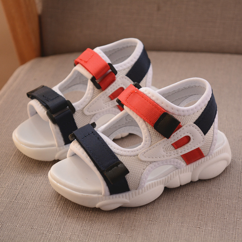 2020 Summer Boy's And Girl's Shoes Beach Shoes Non-slip Roman Children's Sandals