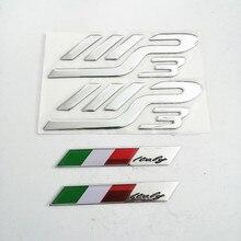 Motorrad Embleme 3D Logos Motor Silber Aufkleber Für PIAGGIO MP3 250 300 400 500 Dh Decals
