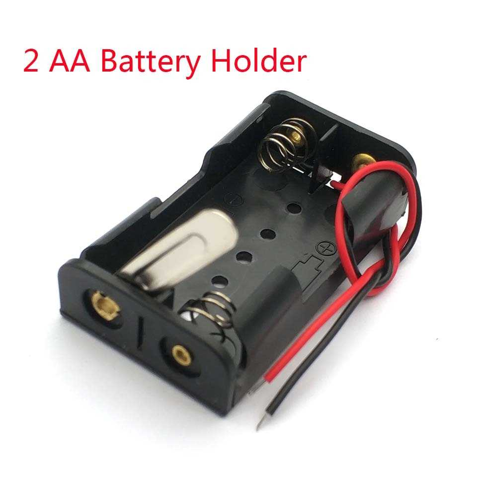5Pcs 3x AAA Battery Case Holder Case Wired ON//OFF Switch For DIY Experiment Test
