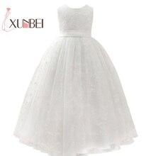 Petites filles princesa rosa flor menina vestidos, de baile renda meninas vestidos de primeiro comunhão