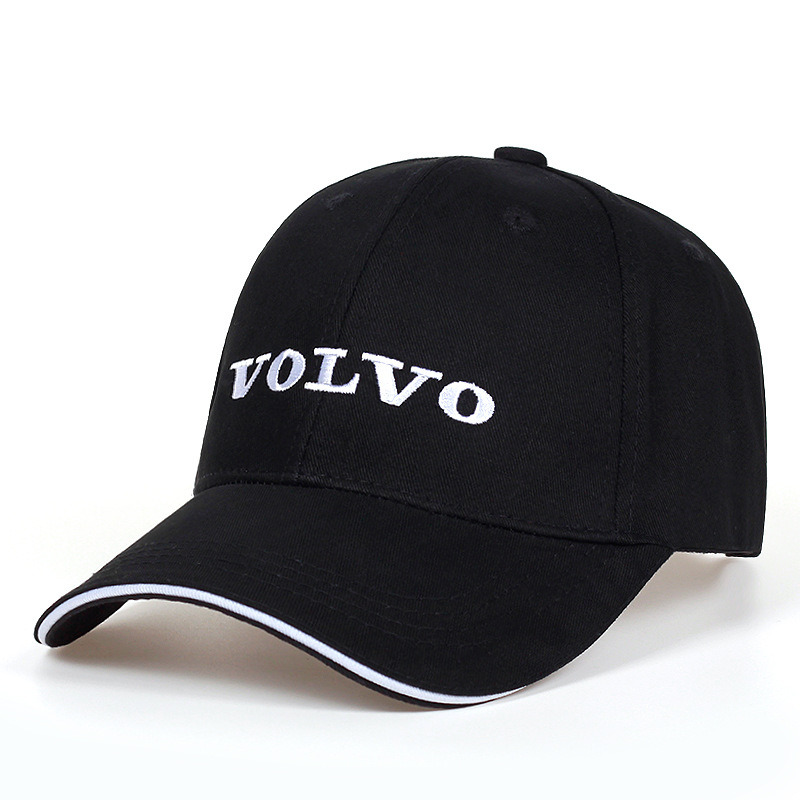 New Black Hat Cotton Letter Embroidery Volvo Baseball Cap Snapback Fashion Dad Hats For Men's & Women's Trucker Caps Grras Bone