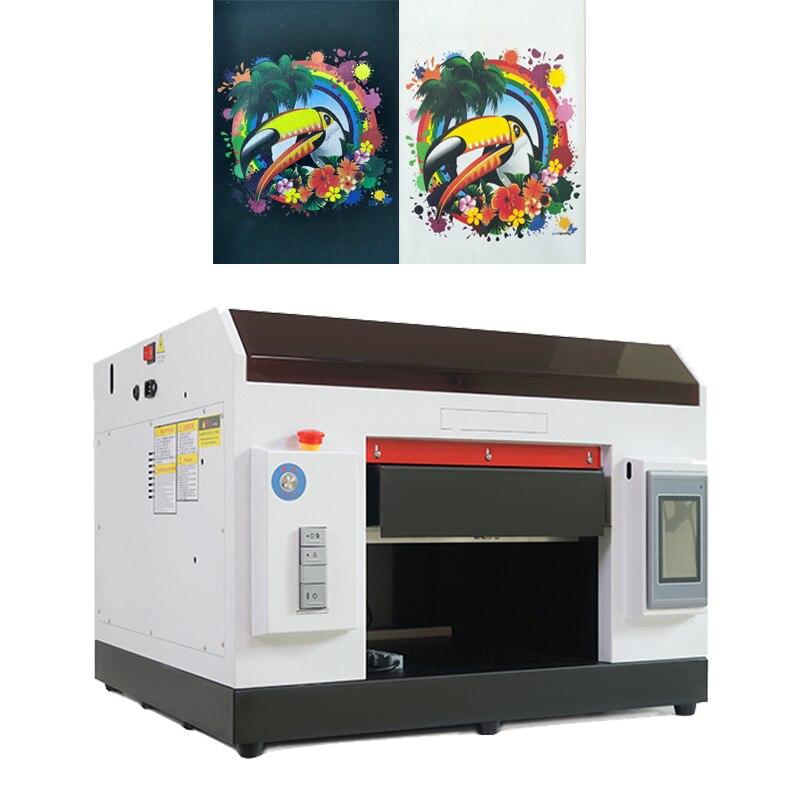 Numérique automatique de machine d'impression de t-shirt jet direct uv imprimante a3 epson R1390