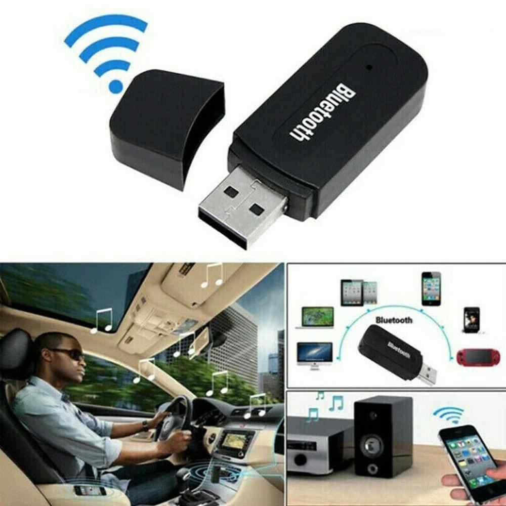 يونيفرسال USB مستقبل صوت بلوتوث AUX متوافق مع ميتسوبيشي ASX أوتلاندر لانسر EX باجيرو أوبل موكا فولفو S60 V60 XC60