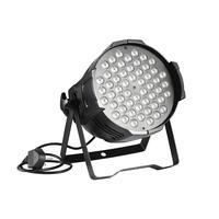 2pc 160W High Power Stage Light Muti Colors DMX Par Cans Disco Light Stage Wash Effect Lighting Laser Projector Dj Light EU Plug