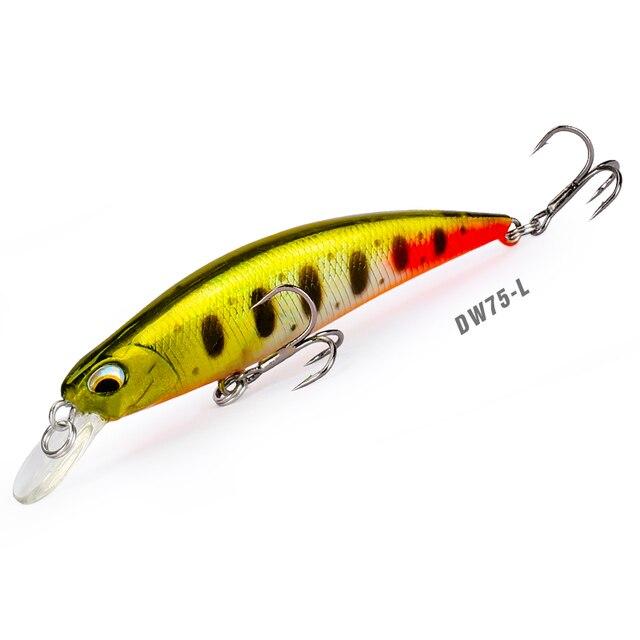 Jerkbait Swimbait 12pcs Saltwater Freshwater Fishing Hard Lure Bass Bait