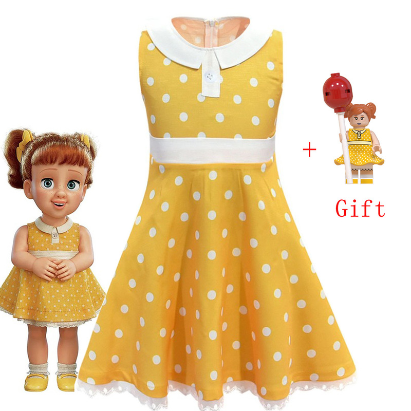 New Toy Story Gaby Doll Dress Children Baby Princess Girl Printed