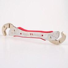 조정 가능한 매직 렌치 다기능 목적 스패너 도구 유니버설 렌치 파이프 홈 핸드 툴 퀵 스냅 Grip9 45mm