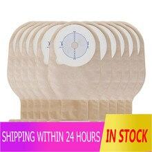 Rosenicee sacs de colostomie jetable, pochette égouttables à usage unique pour les soins de la bouche, 10 pièces