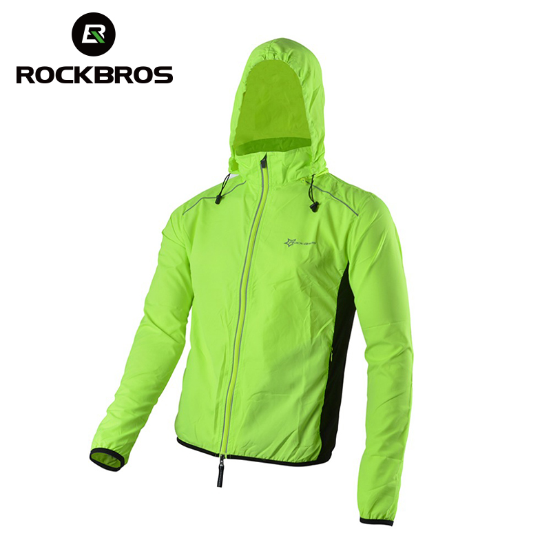 ROCKBROS Jacket Jersey Wind-Coat Long-Sleeve Cycling-Sports Bike Bicycle Breathable Men