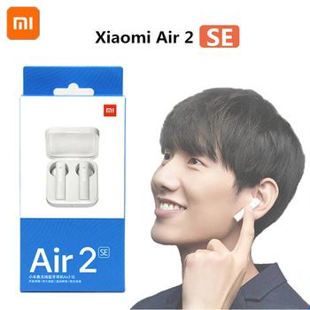 Oryginalny Xiaomi Air2 SE TWS oryginalny bezprzewodowy Bluetooth 5 0 słuchawki AirDots 2 Mi prawdziwe Redmi Airdots S słuchawki douszne 2SE Eeaphones tanie i dobre opinie NONE Dynamiczny CN (pochodzenie) Prawdziwie bezprzewodowe 112dB Słuchawki do monitora Do gier wideo Zwykłe słuchawki