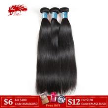 """Ali queen волосы перуанские прямые волосы пряди человеческие волосы для наращивания натуральный цвет """"-26"""" натуральные кудрявые пучки волос"""