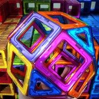 30pcs DIY Magnetic Constructor Triangle Square Big Bricks Magnetic Building Blocks Designer Set Magnet Toys For Children 1