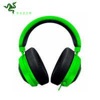 HeadphonesRazer Krak mit Mikrofone 3,5mm Wired Headsets Noise Cancelling Kühlung Hörmuschel Kissen für PC Xbox One