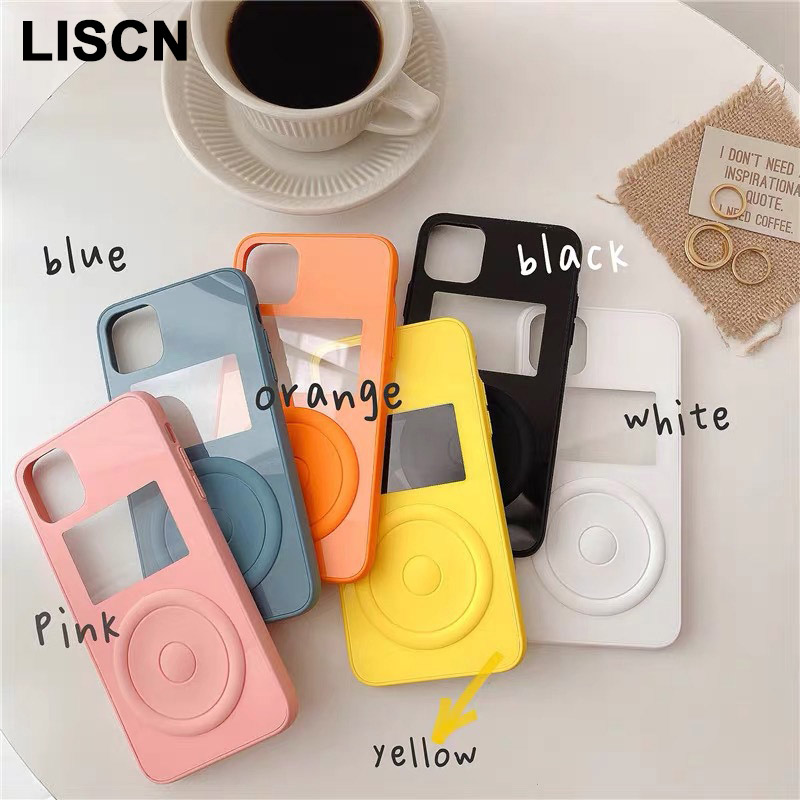 Couples Simple Color Candy Phone Case For iPhone 11 Pro Max 8 7 6 6s Plus xr xsmax x xs Fundas Acrylic Back Cover Can Add Photos