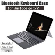 [slim] чехол с беспроводной bluetooth клавиатурой для microsoft