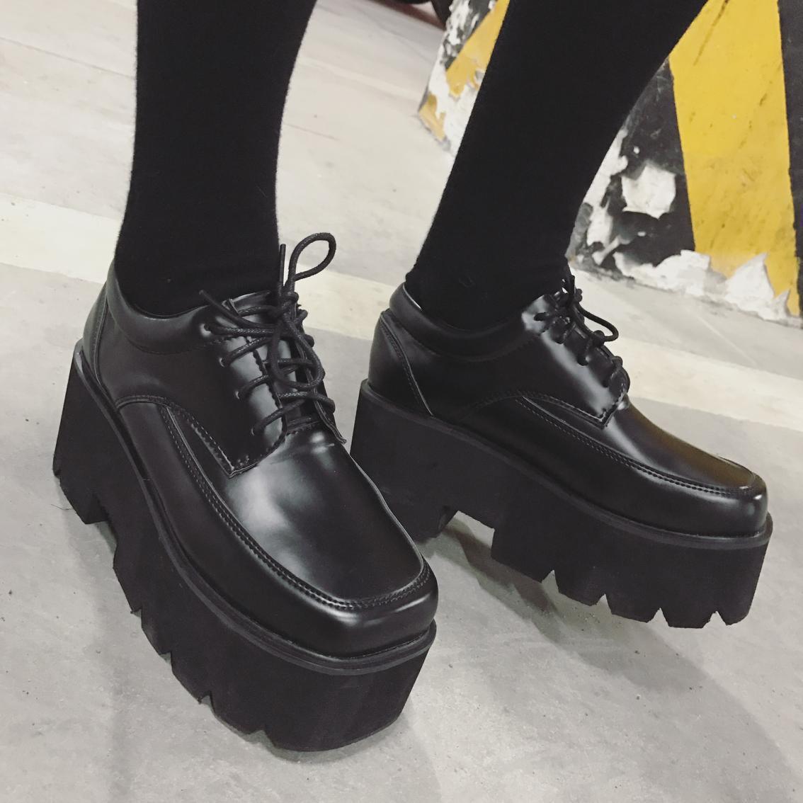 2019 Novos das Mulheres Confortáveis Sapatos Grosso-sola