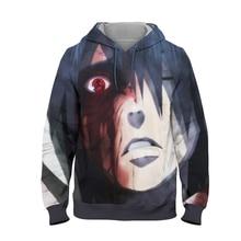 YOUTHUP 2019 NARUTO 3D Full Printed Mens Hoodie Sasuke Sharingan Sweatshirts Pullovers Long Sleeve Male Hoodies 5XL