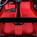 Толстая кожа автомобильный коврик для peugeot 206 207 308 307 407 2008 партнер 301 508 sw 208 5008 2020 rcz ковры автомобильные аксессуары