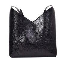 Casual Lady Messenger Bag Large Capacity Simple Design Luxury Storage Bucket Fashion Trend Ladies High Quality Handbag