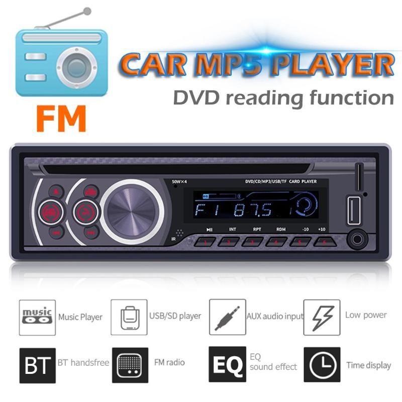 SWM Dvd-Player Monitors Dash-Head-Unit Car-Stereo Bluetooth CD AUX in FM USB 8169A Radio-Receiver title=