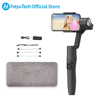 FeiyuTech Vimble 2 Smartphone Gimbal 3 Axis Handheld Stabilizer with 183mm Extension Pole Tripod for iPhone X 8 7 XIAOMI Samsung