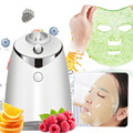 DIY маска для лица чайник Электрический автоматический фрукты маска из овощей машина Смарт ссамозакрывающийся крафт-маска для лица, спа, сал...