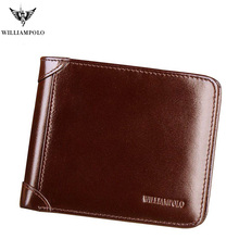 Men Wallet Short Credit Card Holder Bifold Trifold Genuine Leather Multi Card Case Organizer Purse Black Brown pl285 raika an 156 brown 2 75in x 4 125in leather gussetted card case brown