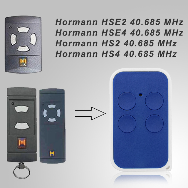 For HORMANN HSM4 40MHz remote control garage door clone Low Frequency gate control key duplicator