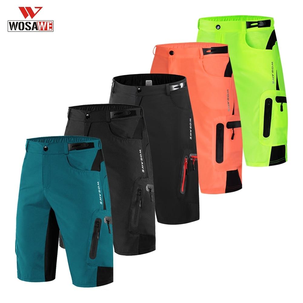 WOSAWE Shorts Motocross Racing Moto MTB Downhill Bicycle Mountain Bike Summer Short Pants