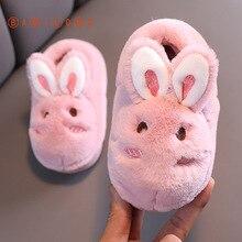 Children Slippers Home Shoes BAMILONG Girls Winter Boys Cartoon Indoor Cute for Warm